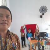 Perekaman e-KTP di Lapas Kediri yang dilaksanakan Dispendukcapil Pemkab Blitar