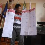 Surat Suara DPRD Provinsi dan DPR RI Pemilu 2019 di Kota Batu Rusak 458 Lembar