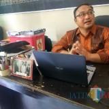 Eka Wisnu Wardhana, Komisioner Divisi Data dan informasi KPU Kabupaten Kediri. (eko Arif s /JatimTimes)