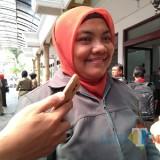 Kepala UPT RPH Pemkot Blitar, Dewi Masitoh.(Foto :  Team BlitarTIMES)