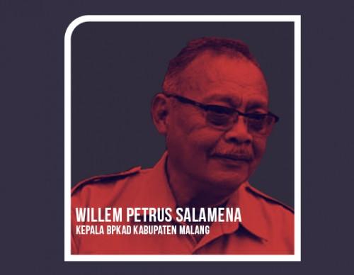 Kepala BPKAD Kabupaten Malang Willem Petrus Salamena