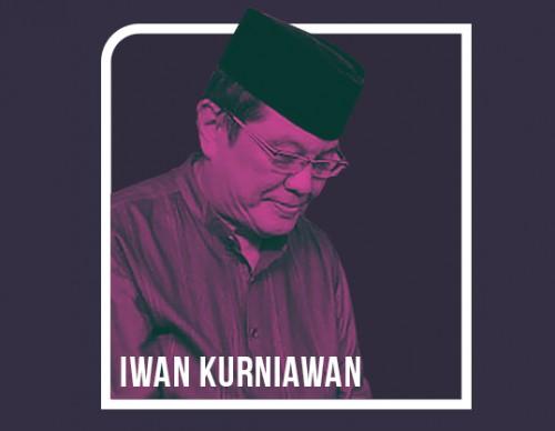 Ilustrasi sosok Iwan Kurniawan