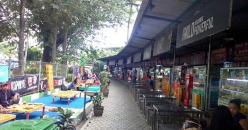 Sentra Kuliner Sriwijaya  (ist)