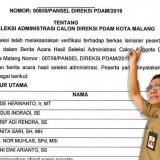 Tak Takut Tersaingi, Sesama Peserta  Daftarkan Ade Herawanto Rebut Kursi Direktur PDAM Kota Malang
