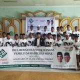 Ulama Muda Jokowi (Samawi) Jawa Timur usai gelar Istighotsah. (eko Arif s /JatimTimes)