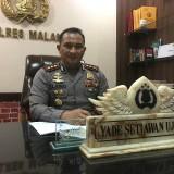 Kapolres Malang AKBP Yade Setiawan Ujung saat ditemui di ruangannya, Kabupaten Malang (Foto : Dokumen MalangTIMES)