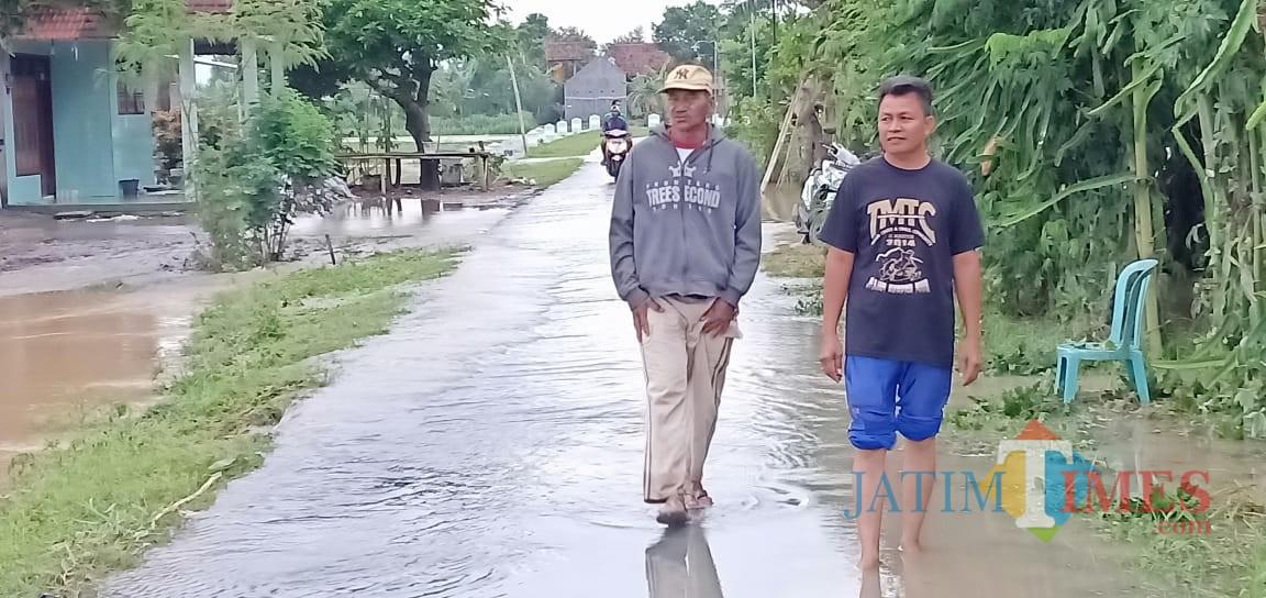Pasca Banjir di Desa Pelem, Campurdarat. / Foto : Anang Basso / Tulungagung TIMES