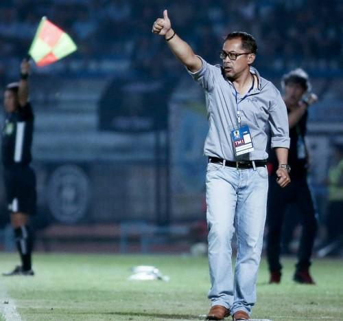 Pelatih kepala Persela Lamongan, Aji Santoso (official Persela)