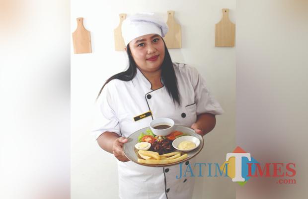 Salah satu sajian menu yang ada di Victoria Boitoque Residence Malang