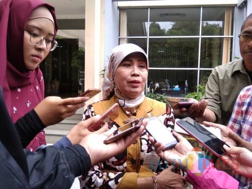 Kepala Dinas Pendidikan Kota Malang Zubaidah. (Foto: Imarorul Izzah/MalangTIMES)