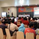 PPK Se Kabupaten Kediri Ikuti Bimtek yang diadakan KPU Kabupaten Kediri . (eko Arif s /JatimTimes)
