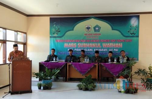 Pembukaan Pentas Seni dan Prestasi MGMP PAI Bondowoso, Sabtu (09/03/2019)