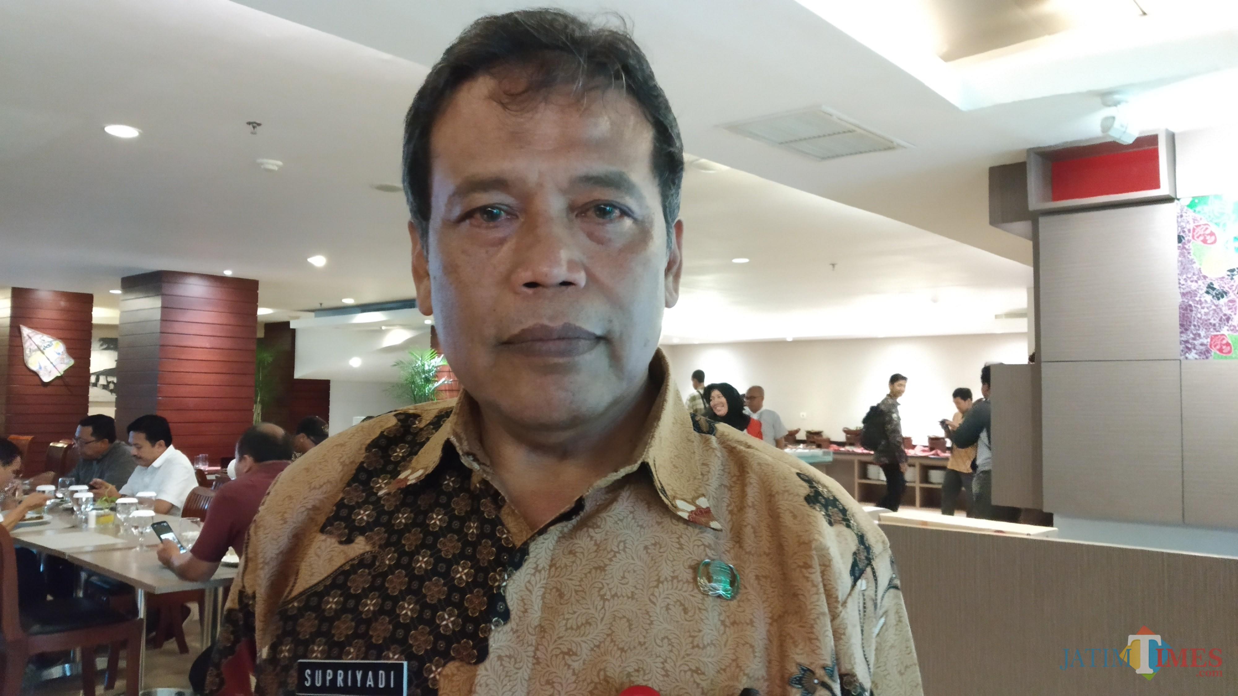 Plt Kepala Bakesbangpol Kota Malang, Supriyadi (Pipit Anggraeni/MalangTIMES)
