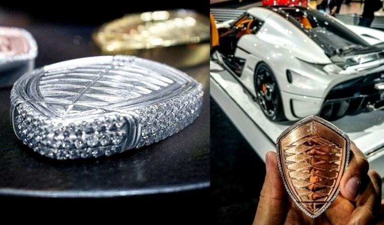 Kunci mobil KoenigseggRegera NCI seharga Rp 3 miliar. (Foto: ist)