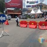 Hati-Hati, Bundaran Jalan Bandung Malang jadi Jalur Satu Arah