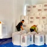 Gudang Tak Muat untuk Logistik,  KPU Batu Terpaksa Sewa Dua Tempat