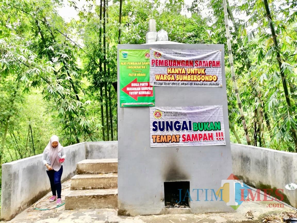 Fasilitas incenerator yang berada diDesa Sumbergono, Kecamatan Bumiaji. (Foto: Irsya Richa/MalangTIMES)