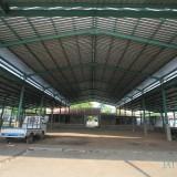 Konstruksi Pasar Kronong yang sempat mangkrak satu tahun  (Agus Salam/Jatim TIMES)