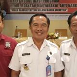 Ka BNNK Tulungagung AKBP Djoko Purnomo (tengah) (foto: Joko Pramono/Jatimtimes)