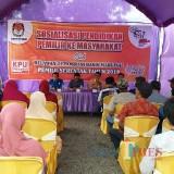 KPU Kabupaten Bersama Tim Relawan Demokrasi Ajak Tukang Rosok Jadi Penyelenggara Pemilu