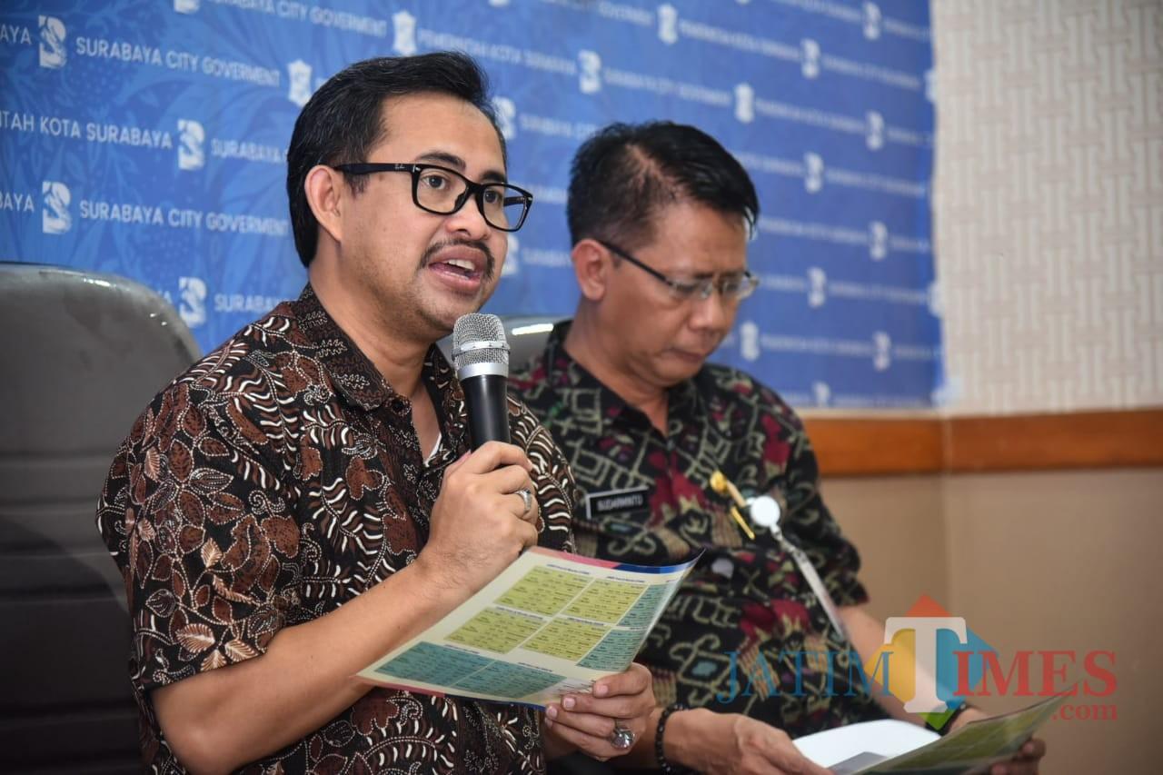 Kepala Dinas Pendidikan Surabaya Ihsan.