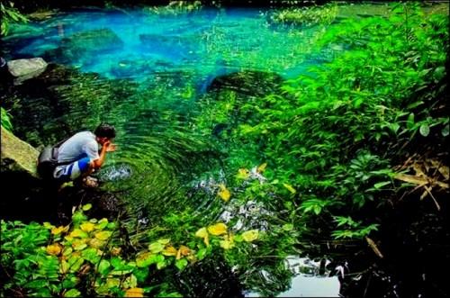 Salah satu sumber mata air di Gondanglegi yang kini menjelma menjadi destinasi wisata bernama Sumber Sira (dixtio comunnity)