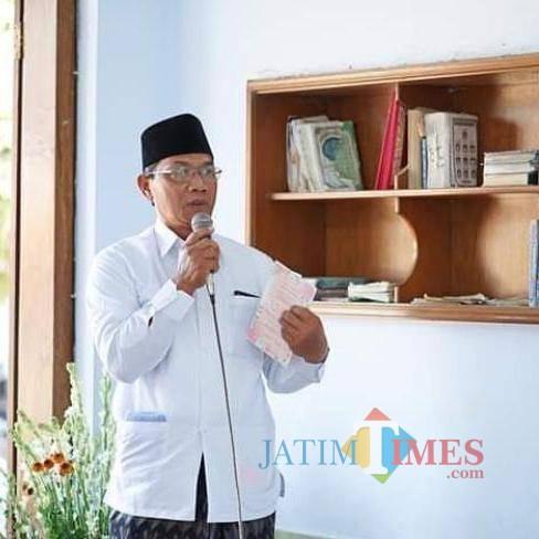 Ketua PCNU Kabupaten Tulungagung, KH Abdul Hakim Mustofa / Foto : Anang Basso / Tulungagung TIMES