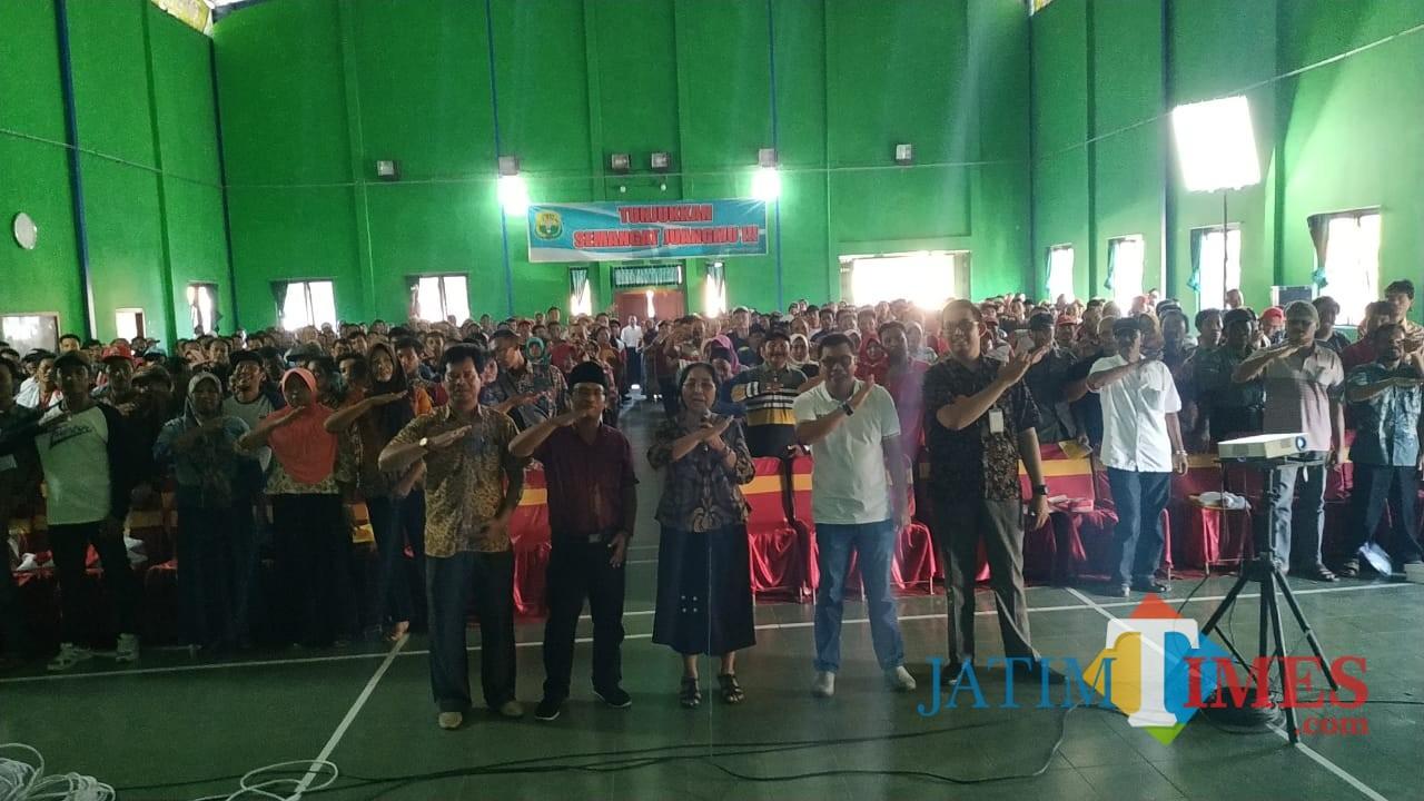 Acara Kolaborasi yang dilakukan Eva Sundari bersama Masyarakat di Tulungagung / Foto : Eva / Tulungagung TIMES