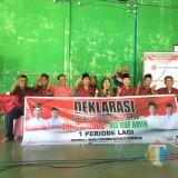 Terima Deklarasi Dukungan, TKN Minta  Kader Serius Menangkan Jokowi - Makruf di Tulungagung