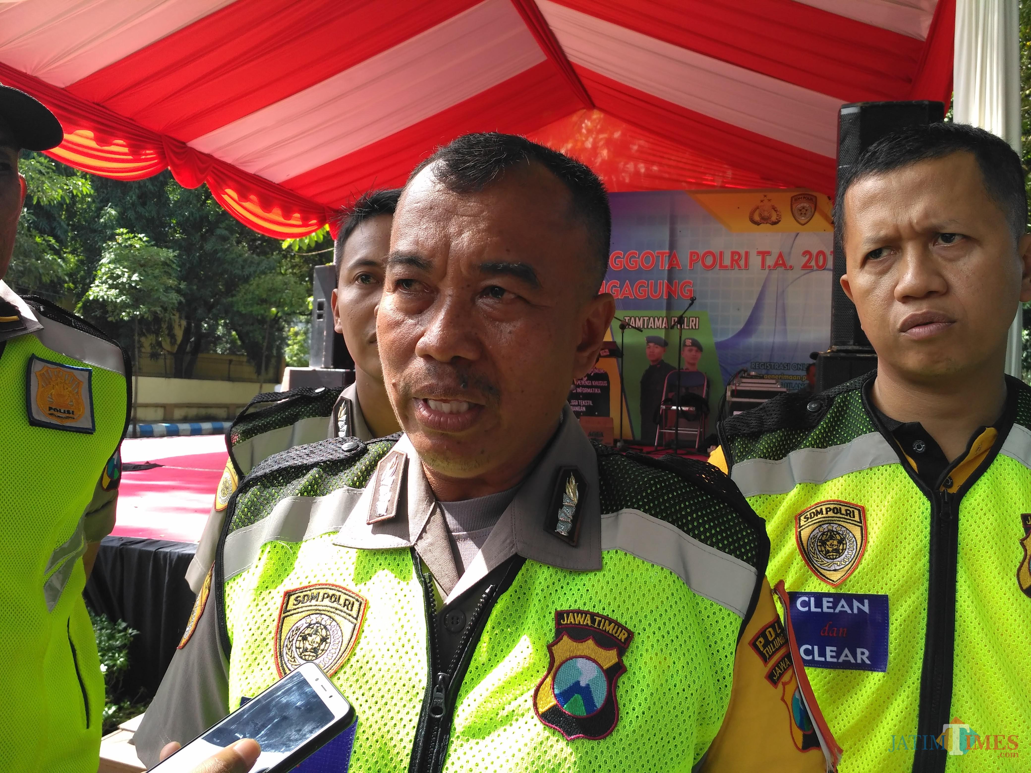 Kabag Sumda Polres Tulungagung Kompol Mustafa Alhadar. / Foto : Anang Basso / Tulungagung TIMES