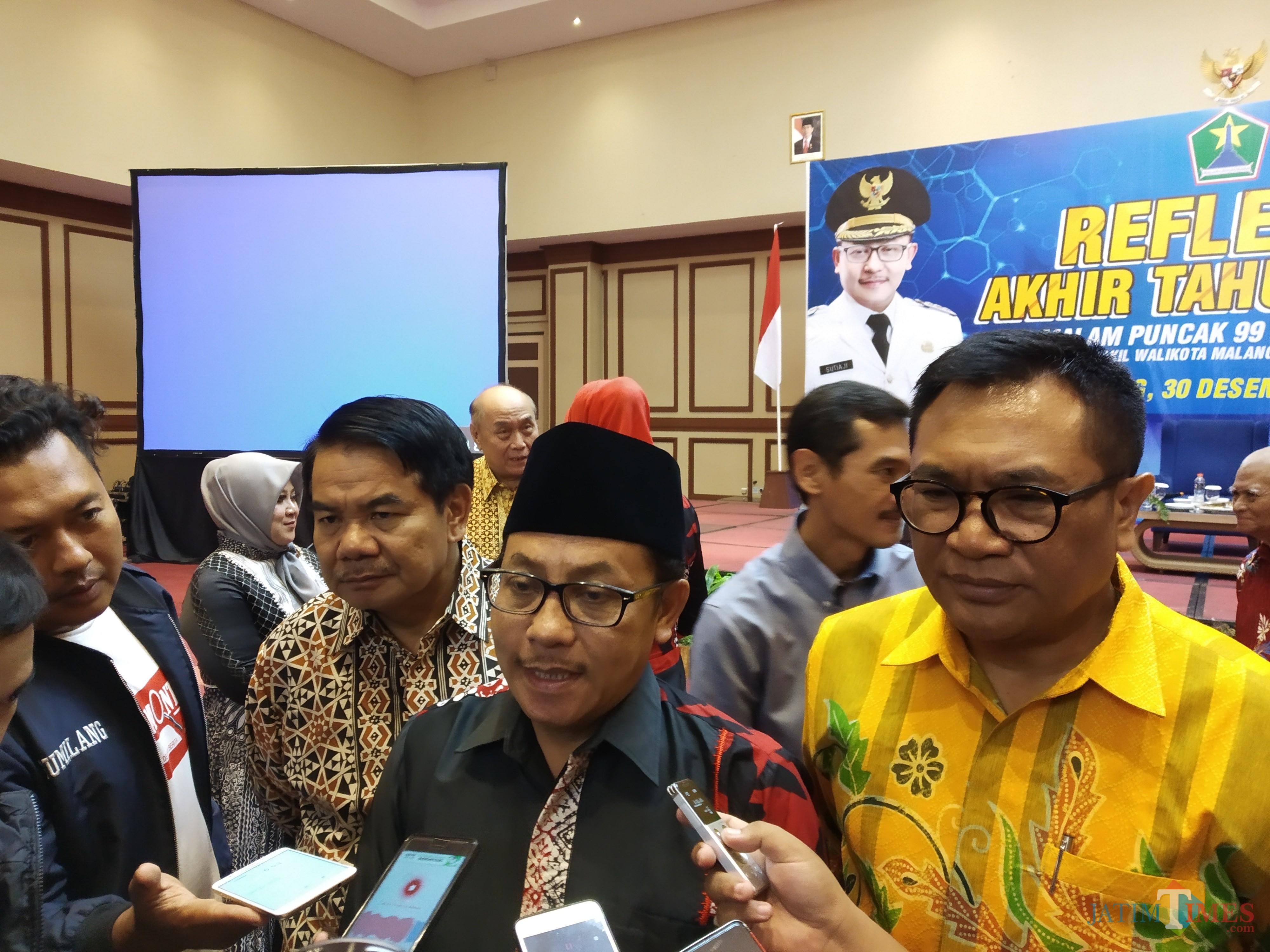 Wali Kota Malang, Sutiaji (tengah) (Pipit Anggraeni/MalangTIMES).