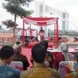 Jembatan Brawijaya Kota Kediri Diresmikan. (Foto: Eko Arif S./JatimTIMES)