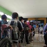 Festival Vokasi #TemanDisabilitas yang berlangsung di aula kantor Dinas Sosial Kota Malang. (Foto: Nurlayla Ratri/MalangTIMES)
