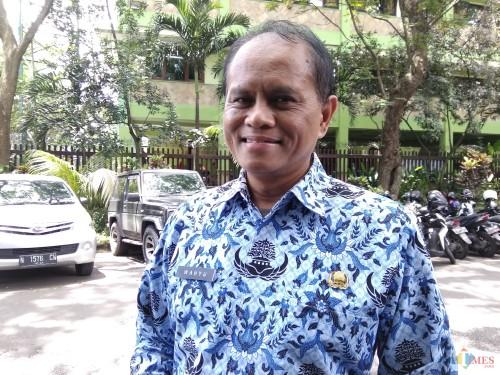 Kepala Dinas Perdagangan Kota Malang Wahyu Setianto. (Foto: Nurlayla Ratri/MalangTIMES)