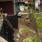 Salah satu bencana terparah sejak Senin (18/3/2019) yang terletak di jalan patimura Kota Batu