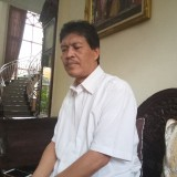 Prof Mudjia Rahardjo saat ditemui di kediamannya (Anggara Sudiongko/MalangTIMES)