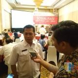 Kepala Seksi (Kasi) Bangunan Gedung Bidang Cipta Karya DPUR Kota Malang Sahabuddin. (Anggara Sudiongko/MalangTIMES)