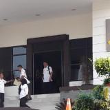 Tim Inspektorat meninggalkan Kejari Bangil.
