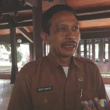 Wahyu Hidayat, kepala DPKPCK Kabupaten Malang, bersiap gapai 90 persen pemenuhan sarpras sanitasi dalam melawan stunting. (Nana)