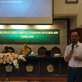 Keiatan sosialisasi Lomba Inotek 2019 oleh Barenlitbang Kota Malang untuk perwakilan sekolah jenjang SMP, SMA/SMK. (Foto: Nurlayla Ratri/MalangTIMES)