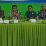 Kepala DPUPR Kota Malang, Hadi Santoso (dua dari kiri)(Anggara Sudiongko/ MalangTIMES)