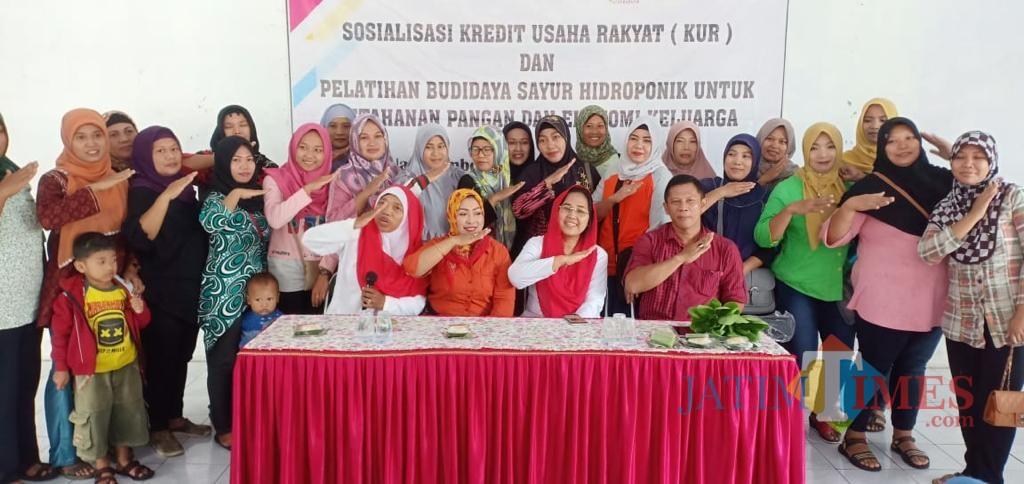 Eva Sundari Saat berikan sosialisasi tentang KUR di Tulungagung / Foto : Istimewa / Tulungagung TIMES