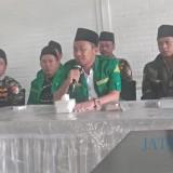 Konferensi pers yang digelar GP Ansor Surabaya.