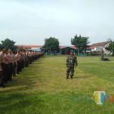 Latihan PBB di SMAN 3 Kota Blitar.