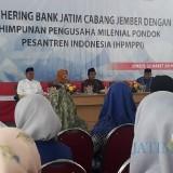 Acara pengukuhan pengurus HPMPPI di aula Bank Jatim Cabang Jember. (foto : Moh. Ali Makrus / Jatim TIMES)