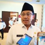 Wali Kota Malang Sutiaji saat menemui awak media. (Foto: Nurlayla Ratri/MalangTIMES)