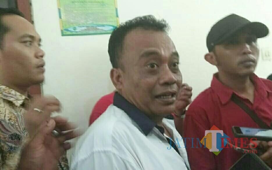 Darmawan, terdakwa kasus dugaan perusakan APK