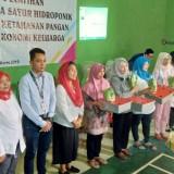 Eva Sundari Saat kegiatan pelatihan Penanaman Sayur Hidroponik / Foto : Istimewa / Tulungagung TIMES