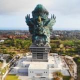 Garuda Wisnu Kencana Bali menjadi nomor 3 patung tertinggi di dunia. (Foto: ist)