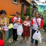 Aksi relawan Jokowi-Ma